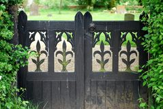 Church gates Royalty Free Stock Photos