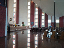Church in Gdansk Zaspa. Royalty Free Stock Photography
