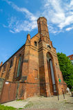Church in Gdnask Royalty Free Stock Images