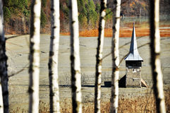 The church in Geamana village Stock Image