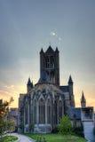 Church in gent belgium Stock Images