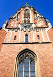 Church of Gertrude in Riga Royalty Free Stock Image