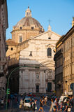 The Church of the Gesù on August 6,2013 in Rome, Italy. Royalty Free Stock Image
