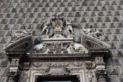 Church Gesu nuovo in Naples Royalty Free Stock Photo