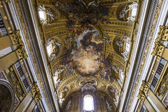 Church of the Gesu, Rome, Italy Stock Photo