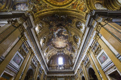 Church of the Gesu, Rome, Italy Royalty Free Stock Photo