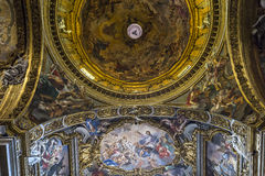Church of the Gesu, Rome, Italy Royalty Free Stock Photos
