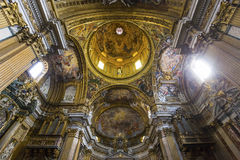 Church of the Gesu, Rome, Italy Stock Image