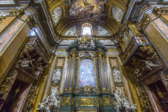 Church of the Gesu, Rome, Italy Royalty Free Stock Photography