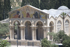 Church of Gethsemane, Jerusalem Royalty Free Stock Photos