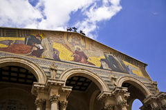 Church of gethsemane jerusalem Stock Photos