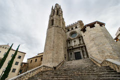 Church girona Stock Photos