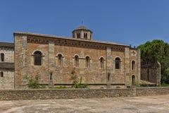 Church in Girona. In Spain stock photo