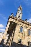 Church in Glasgow. St Andrew's Church, Glasgow, Scotland, UK at dynamic angle Royalty Free Stock Photos
