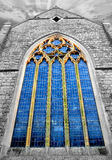 Church glass window Royalty Free Stock Images