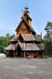 Church Of Gol. This is a famous wood church in oslo, Norway Royalty Free Stock Photo