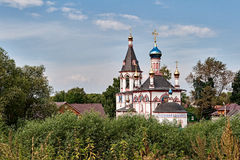 The Church of the Golden ring of Russia. royalty free stock photos