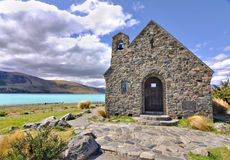 Church of the Good Sheperd, Lake Tekapo Stock Image
