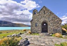Church of the Good Sheperd, Lake Tekapo Stock Image