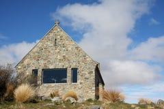 Church of the Good Shepherd. At Lake Tekapo New Zealand Royalty Free Stock Images
