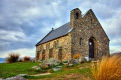 The Church of the Good Shepherd. On Lake Tekapo, New Zeland Royalty Free Stock Photos