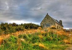The Church of the Good Shepherd. On Lake Tekapo, New Zeland Stock Photo