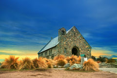 Church of good shepherd  important landmark and traveling destin Stock Photography