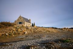 The Church of the Good Shepherd at Lake Tekapo Royalty Free Stock Photo