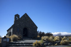 The Church of the Good Shepherd, Lake Tekapo Stock Images