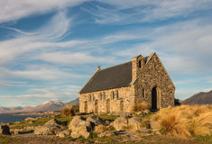 Church of the Good Shepherd, Lake Tekapo Stock Image