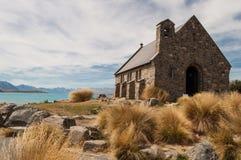 Church of the Good Shepherd at Lake Tekapo Royalty Free Stock Photos