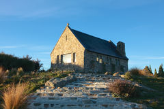 Church of the Good Shepherd at Lake Tekapo. royalty free stock photo