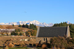 Church of the Good Shepherd at Lake Tekapo. Stock Image