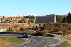 Church of the Good Shepherd at Lake Tekapo. Stock Images