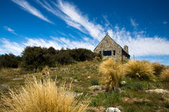 Church of the good shepherd in tekapo Royalty Free Stock Photography
