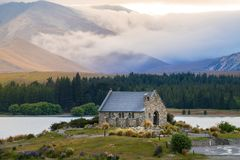 Church of the Good Shepherd, New Zealand Stock Photo