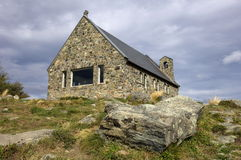 Church of the Good Shepherd. At New Zealand South Island Stock Photography