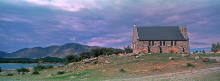Church of the Good Shepherd. At New Zealand South Island Stock Photo