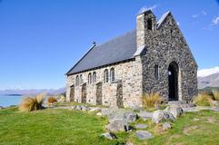 The Church of the Good Shepherd, Tekapo lake Stock Photos