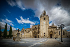 Church. Gothic cathedral of Palencia, Spain Royalty Free Stock Photography