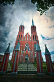 Church in Gothic style Royalty Free Stock Images
