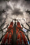 Church in Gothic style Royalty Free Stock Photo