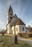 Church on Gotland, Sweden Royalty Free Stock Photo