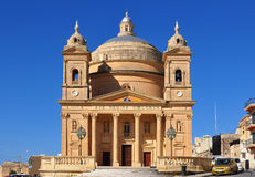 Church,Gozo island Royalty Free Stock Photography