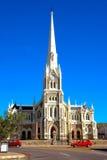 Church in Graaff Reinet. The famous biggest Dutch reformed church (N.G. kerk) in Graaff Reinet, Eastern Cape province, South Africa Stock Photo