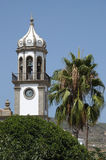 Church in Granadilla de Abona. Tenerife, Spain Royalty Free Stock Photos