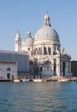 Church at Grand canal Venice Italy. Santa Maria Della Salute Church at Grand canal Venice Italy royalty free stock image