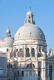 Church at Grand canal Venice Italy Royalty Free Stock Photography