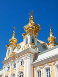 Church of grand palace in Peterhof, Russia Royalty Free Stock Photos