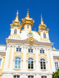 Church of grand palace in Peterhof, Russia Royalty Free Stock Photography
